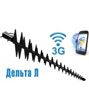 "3G/4G антенна ДЕЛЬТА ""ПИЛА"" 900/1700-2800/SMA"