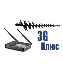 """Комплект 3G с Wi-Fi роутером Zyxel """"3G Плюс"""""""