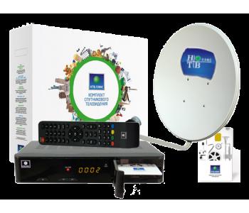 Комплект НТВ ПЛЮС с ресивером NTV-PLUS 1HD с установкой и настройкой
